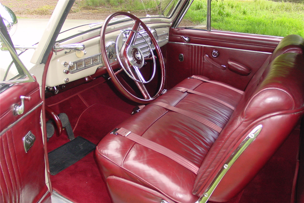 1948 LINCOLN CONTINENTAL CONVERTIBLE - Interior - 189185