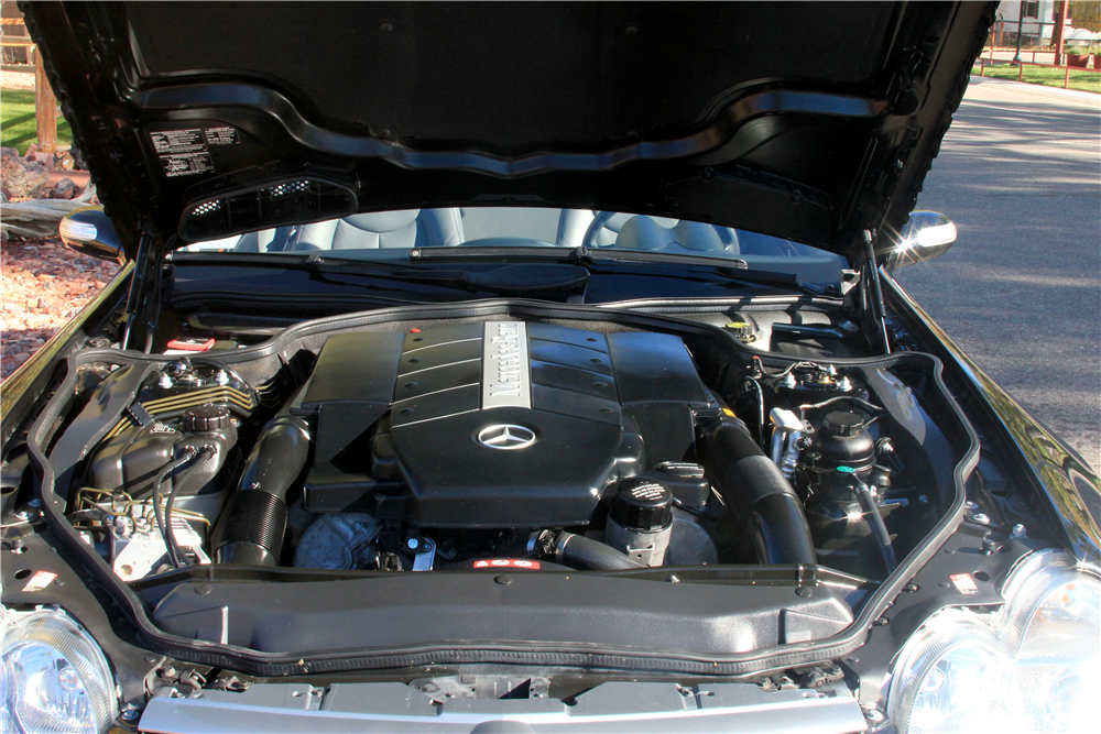 2005 MERCEDES-BENZ SL500 CONVERTIBLE - Engine - 189186