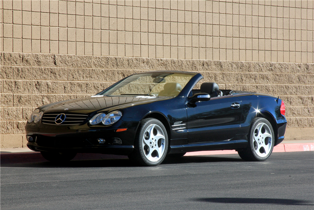 2005 MERCEDES-BENZ SL500 CONVERTIBLE - Front 3/4 - 189186