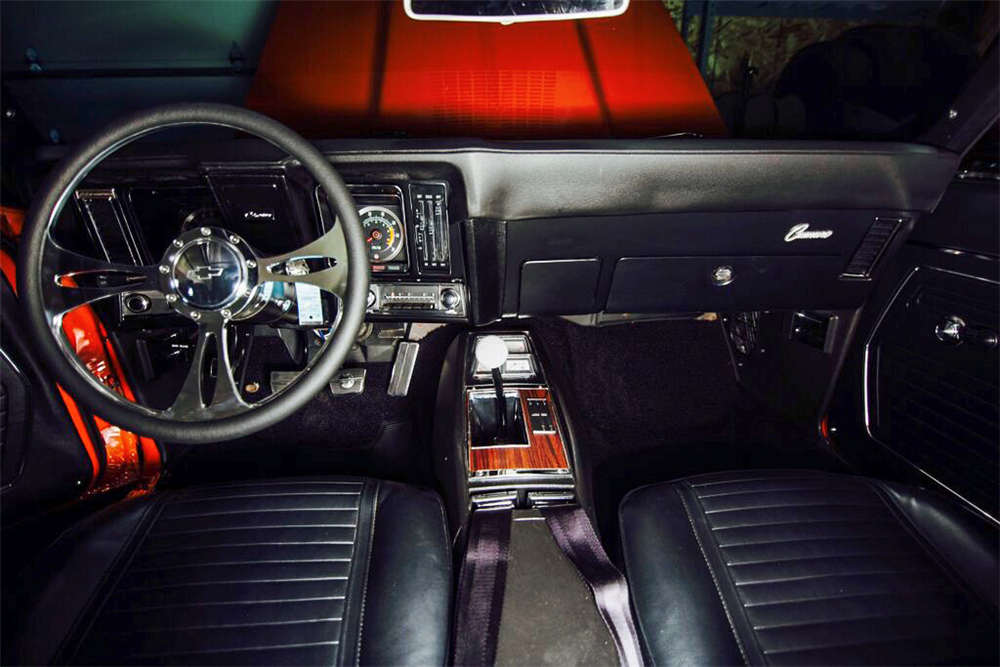 1969 CHEVROLET CAMARO SS CUSTOM CONVERTIBLE - Interior - 189189