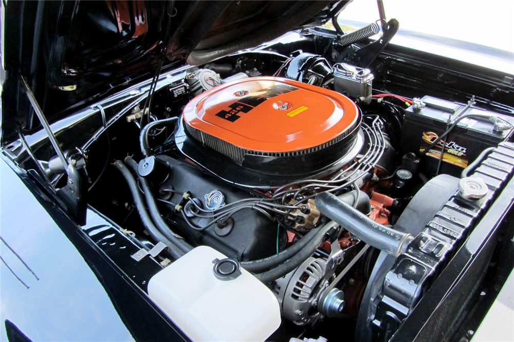 1970 PLYMOUTH HEMI ROAD RUNNER - Engine - 189193