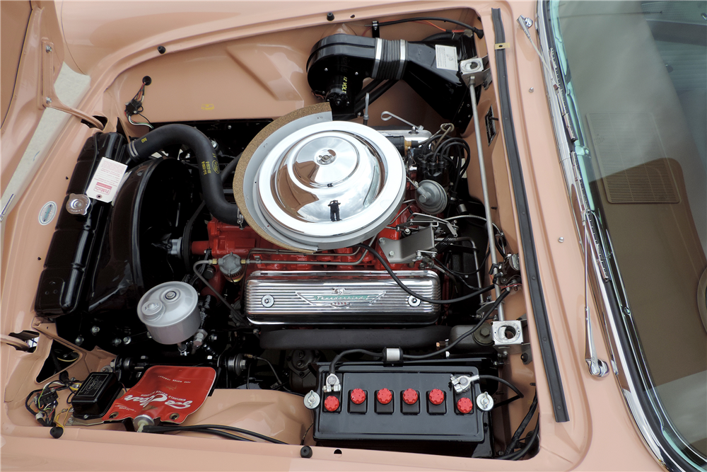 1956 FORD THUNDERBIRD CONVERTIBLE - Engine - 189216