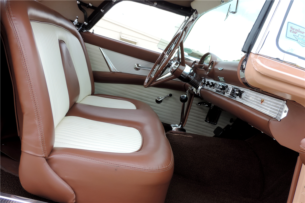 1956 FORD THUNDERBIRD CONVERTIBLE - Interior - 189216