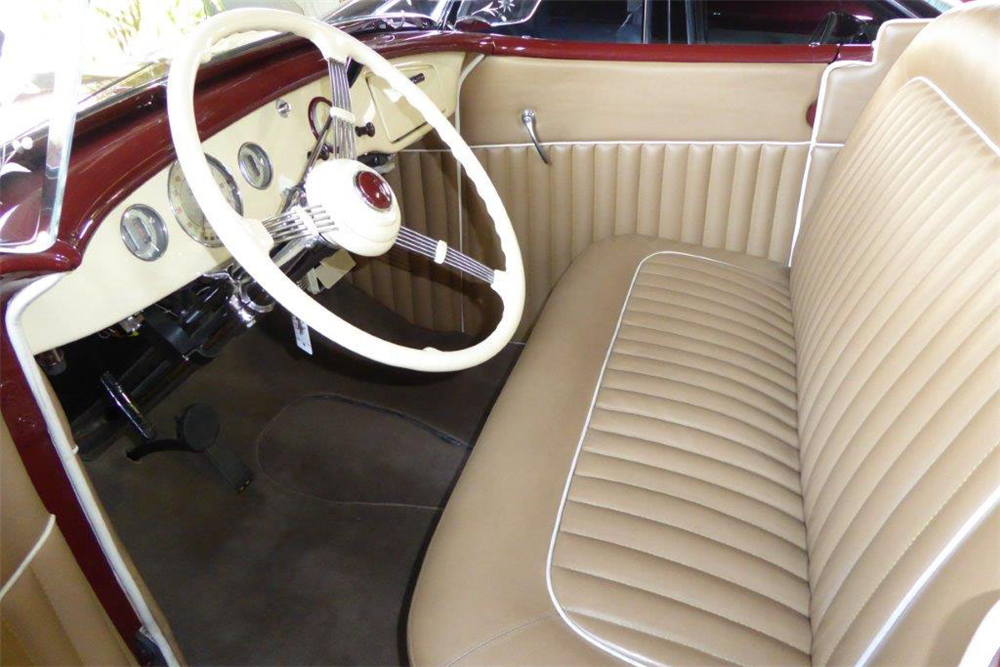 1935 FORD UTE ROADSTER PICKUP - Interior - 189224