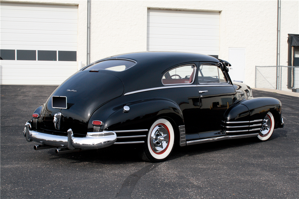 1948 CHEVROLET FLEETLINE CUSTOM SEDAN - Rear 3/4 - 189233