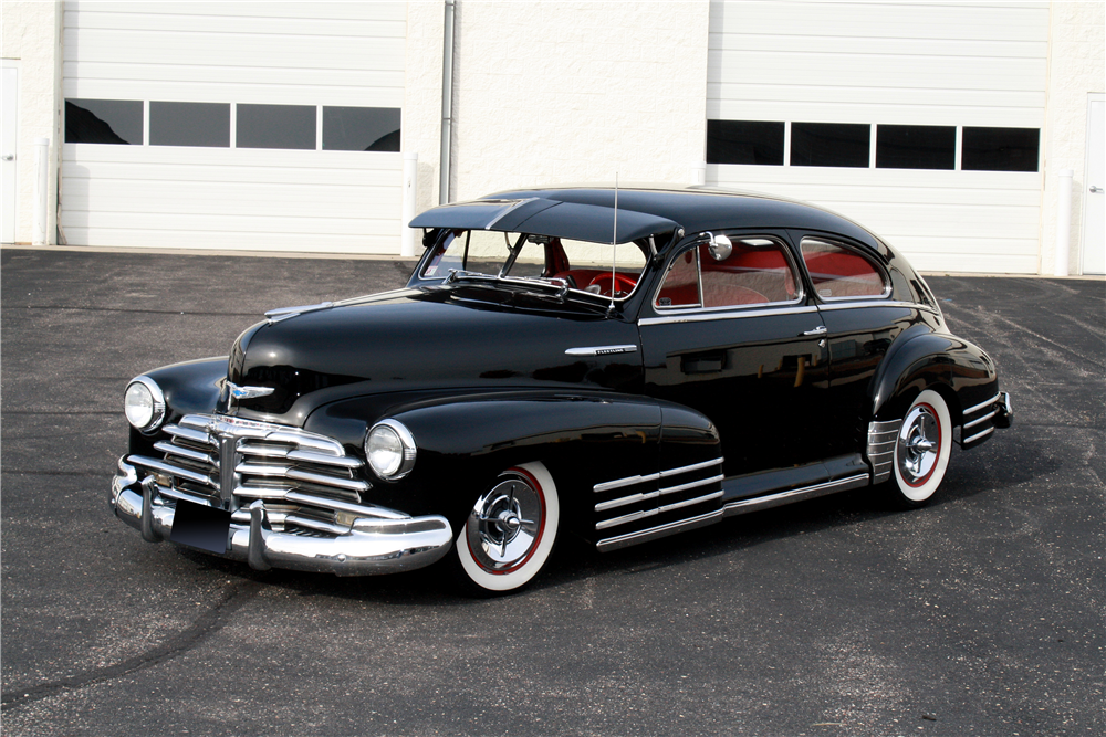 1948 CHEVROLET FLEETLINE CUSTOM SEDAN - Side Profile - 189233