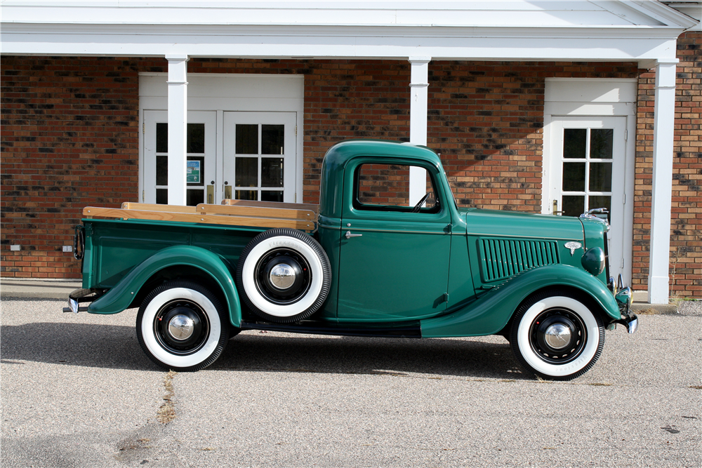 1936 FORD PICKUP - Side Profile - 189235