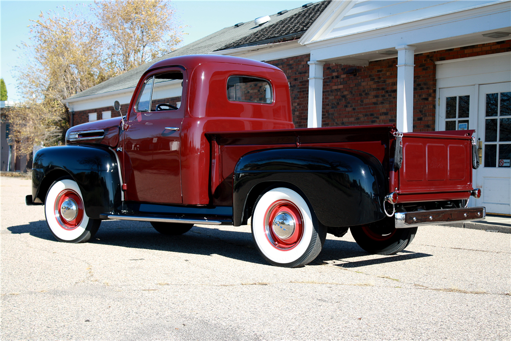 1948 FORD F-1 PICKUP - Rear 3/4 - 189236