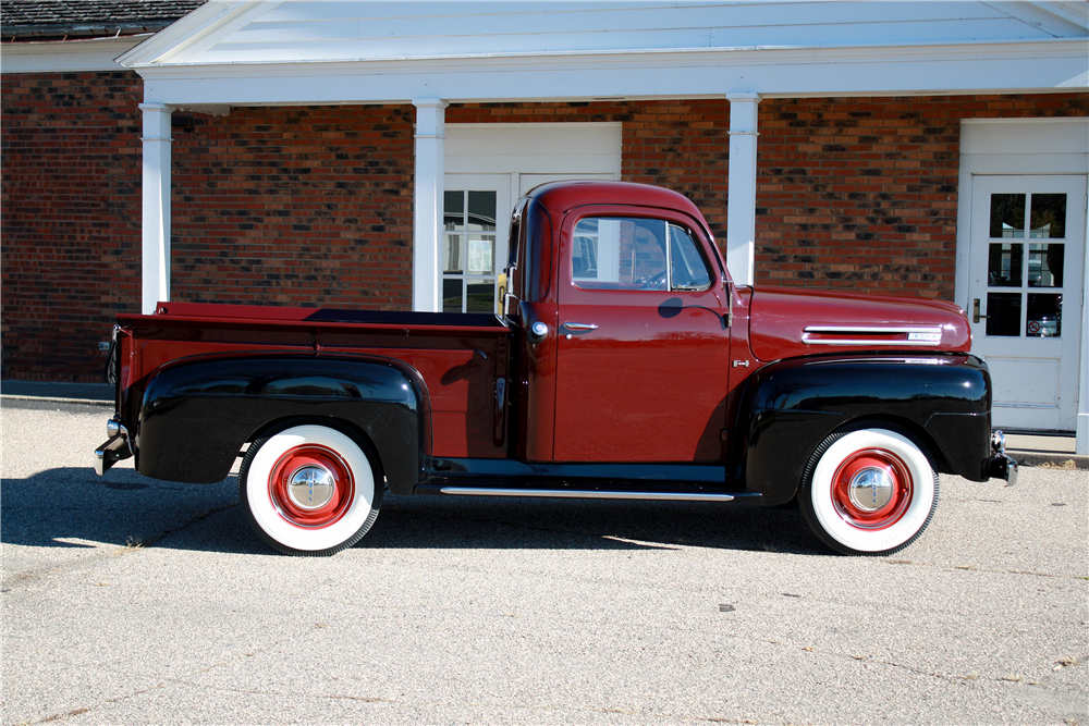 1948 FORD F-1 PICKUP - Side Profile - 189236