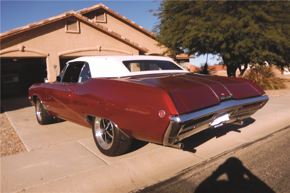 1968 BUICK GS400 CONVERTIBLE - Rear 3/4 - 189242