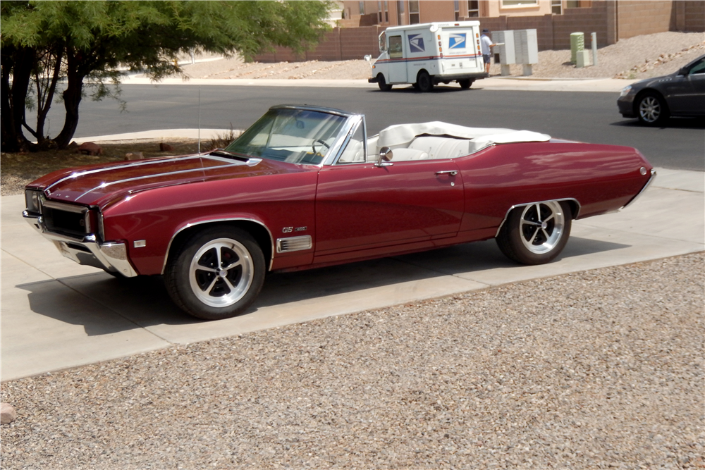 1968 BUICK GS400 CONVERTIBLE - Side Profile - 189242
