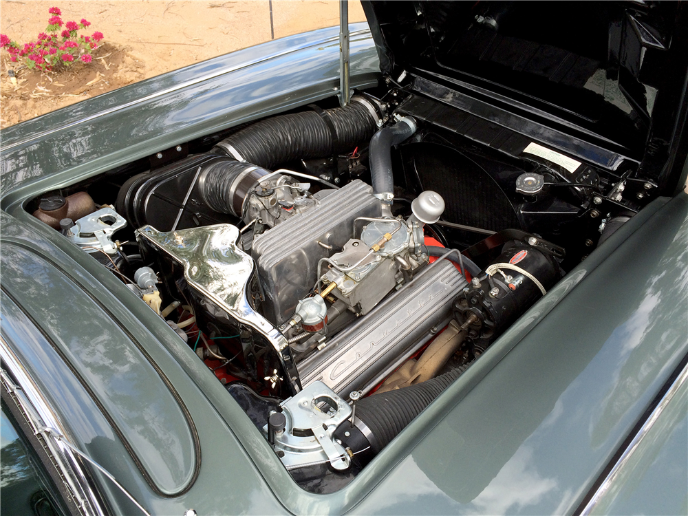 1959 CHEVROLET CORVETTE CONVERTIBLE - Engine - 189250