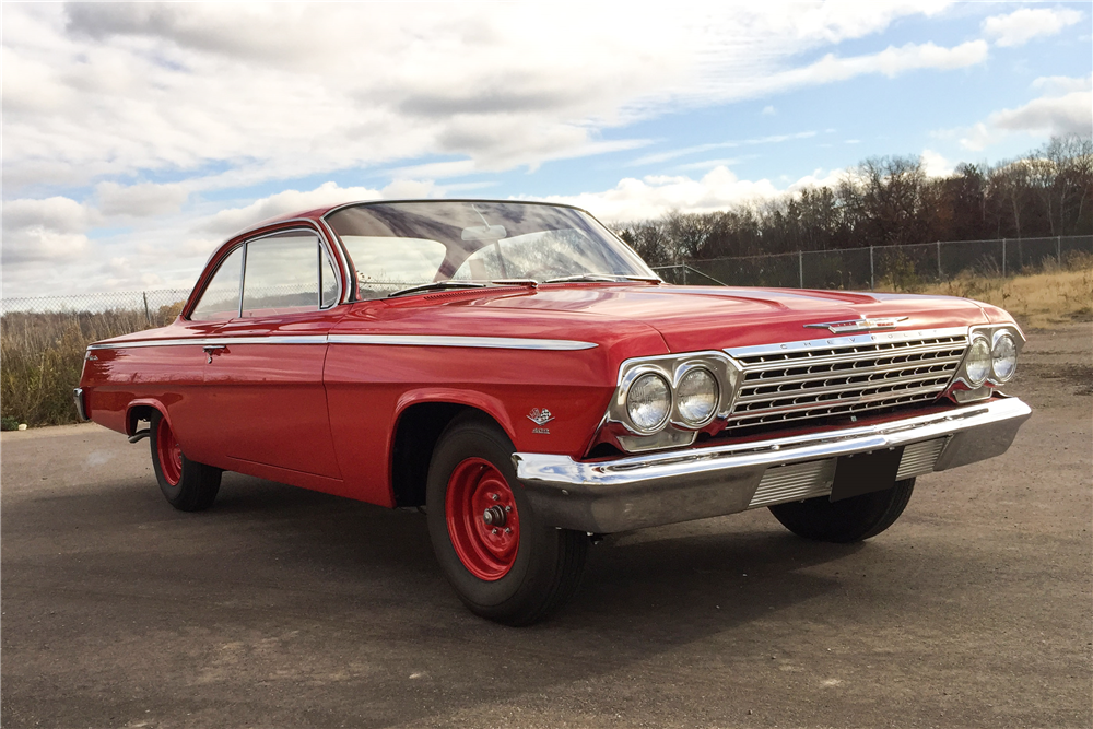 1962 CHEVROLET BEL AIR BUBBLE TOP - Front 3/4 - 189269