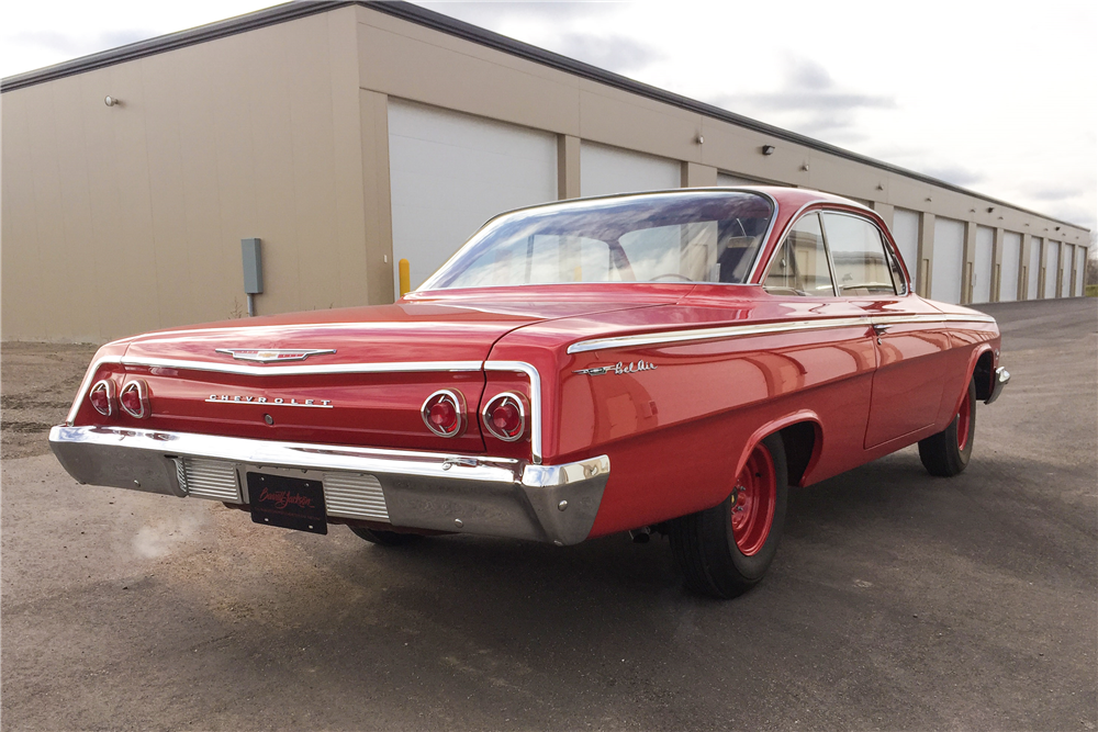 1962 CHEVROLET BEL AIR BUBBLE TOP - Rear 3/4 - 189269