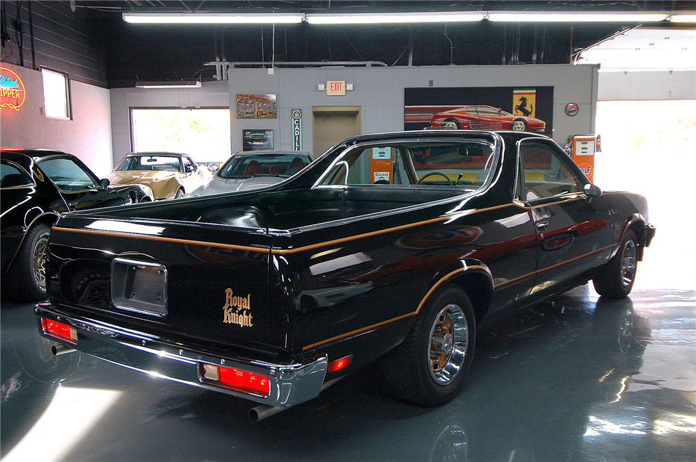 1979 CHEVROLET EL CAMINO PICKUP - Rear 3/4 - 189273