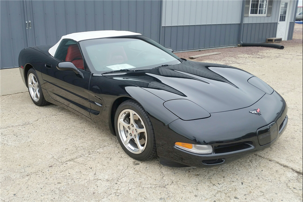 2001 CHEVROLET CORVETTE CONVERTIBLE - Front 3/4 - 189282