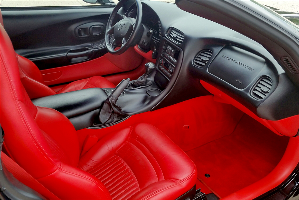 2001 CHEVROLET CORVETTE CONVERTIBLE - Interior - 189282