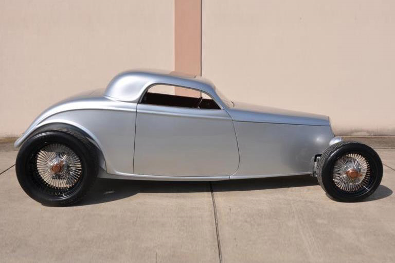 1933 FORD SPEEDSTAR CUSTOM COUPE - Side Profile - 189290