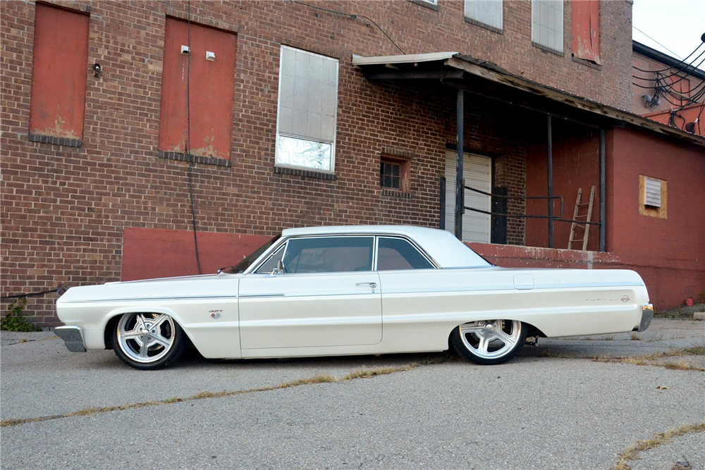 1964 CHEVROLET IMPALA CUSTOM HARDTOP - Side Profile - 189291