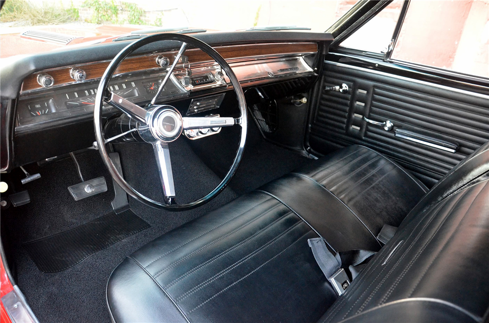 1967 CHEVROLET CHEVELLE SS CONVERTIBLE RE-CREATION - Interior - 189293