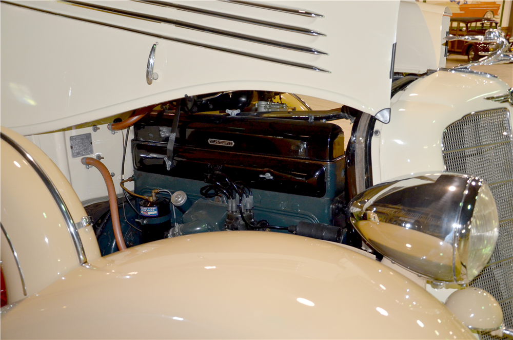 1935 BUICK SERIES 66C CONVERTIBLE - Engine - 189301