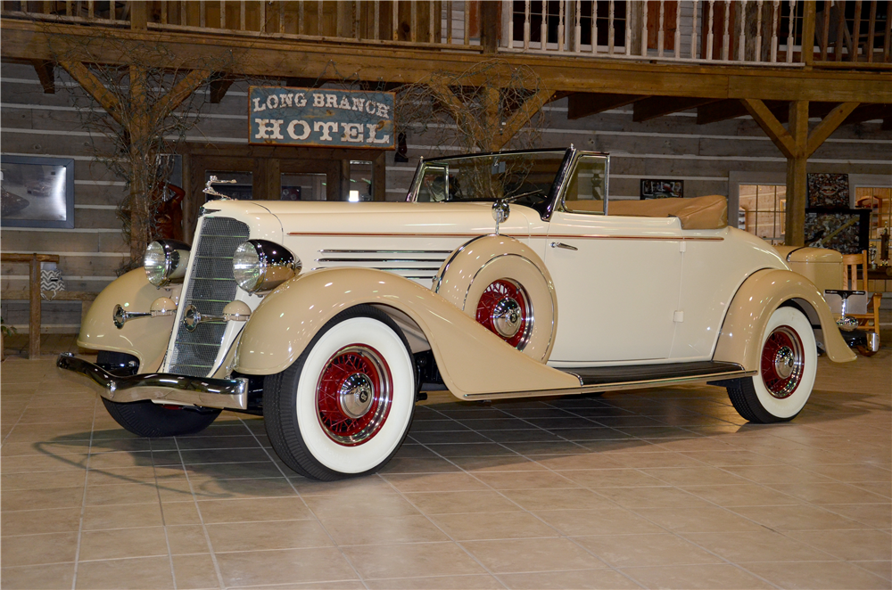 1935 BUICK SERIES 66C CONVERTIBLE - Front 3/4 - 189301