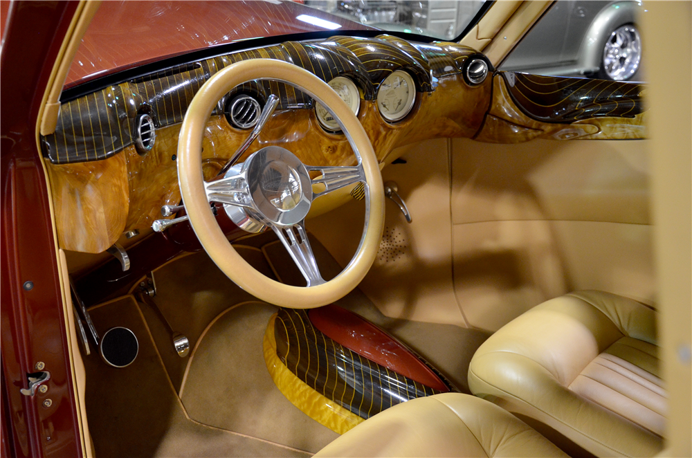 1940 WILLYS CUSTOM WOODY WAGON - Interior - 189302
