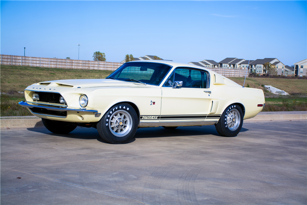 1968 SHELBY GT500 KR FASTBACK - Front 3/4 - 189309