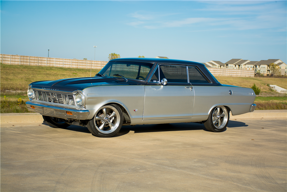 1965 CHEVROLET NOVA CUSTOM COUPE - Front 3/4 - 189310