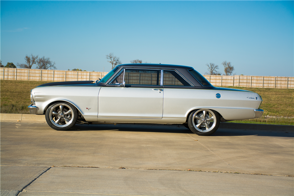 1965 CHEVROLET NOVA CUSTOM COUPE - Side Profile - 189310