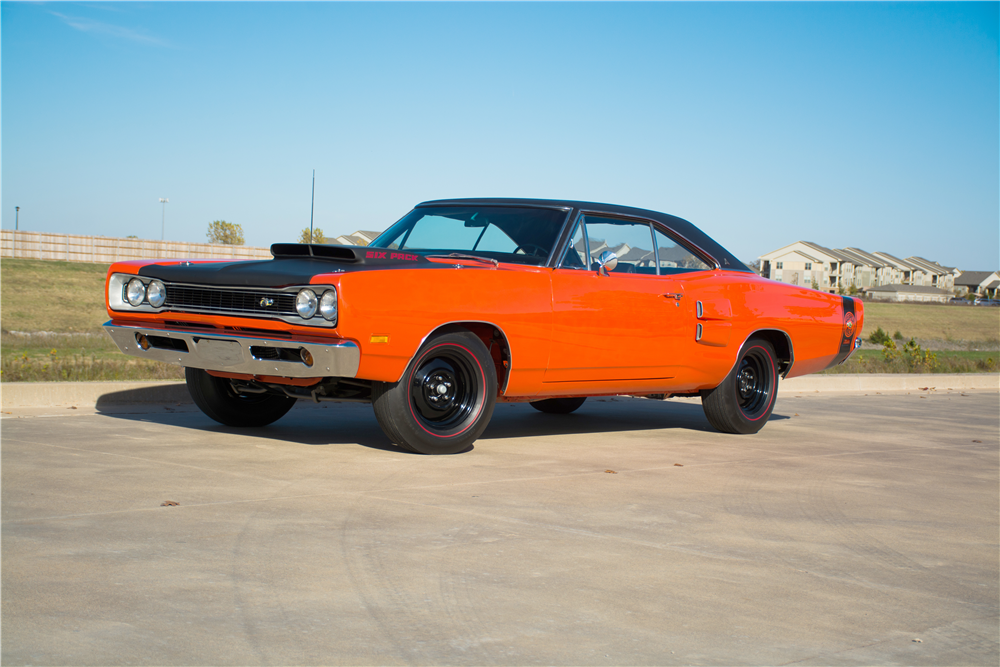 1969 DODGE SUPER BEE A-12 - Front 3/4 - 189311
