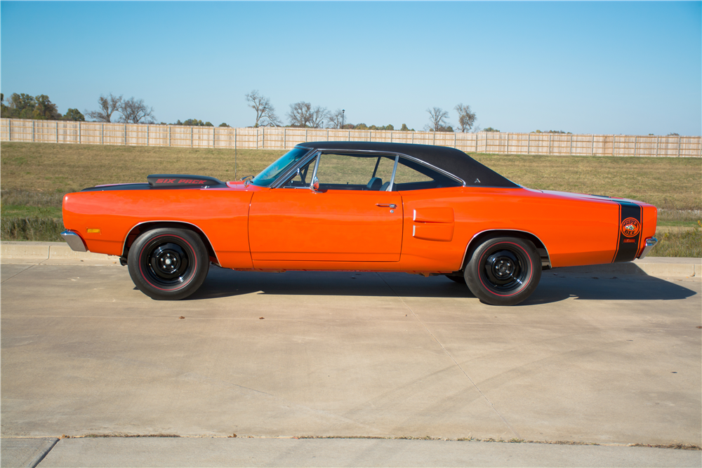 1969 DODGE SUPER BEE A-12 - Side Profile - 189311