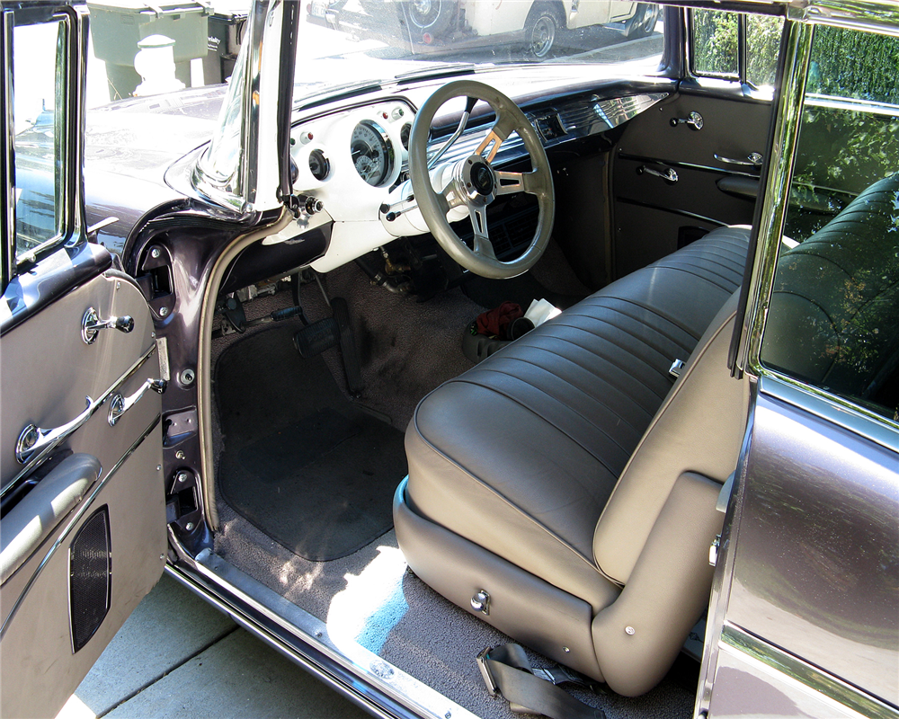 1957 CHEVROLET BEL AIR CUSTOM HARDTOP - Interior - 189320