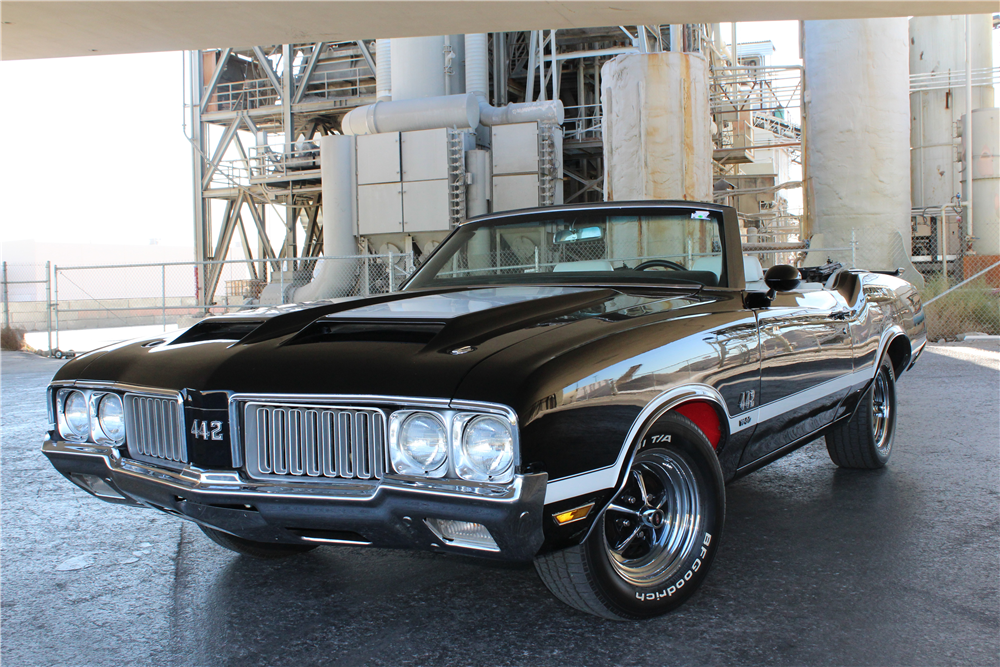 1970 OLDSMOBILE CUTLASS 442 W30 RE-CREATION CONVERTIBLE - Front 3/4 - 189344