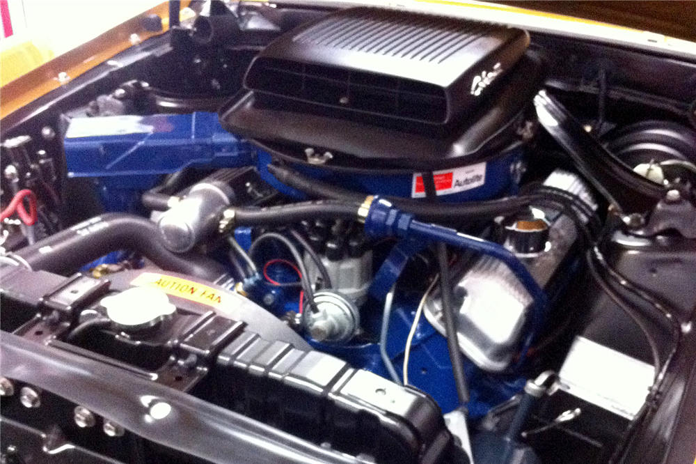 1970 FORD MUSTANG MACH 1 428 SCJ DRAG PACK - Engine - 189352