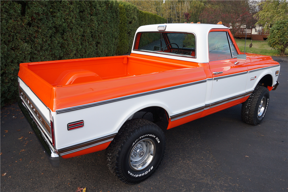 1972 CHEVROLET CHEYENNE 4X4 - Rear 3/4 - 189358
