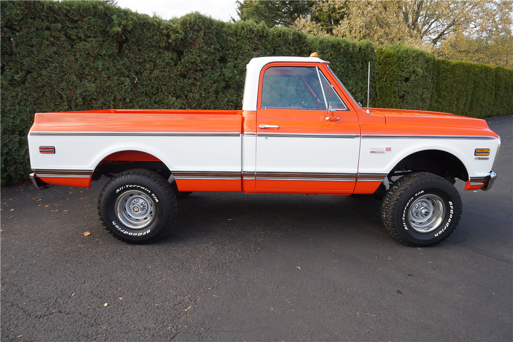 1972 CHEVROLET CHEYENNE 4X4 - Side Profile - 189358