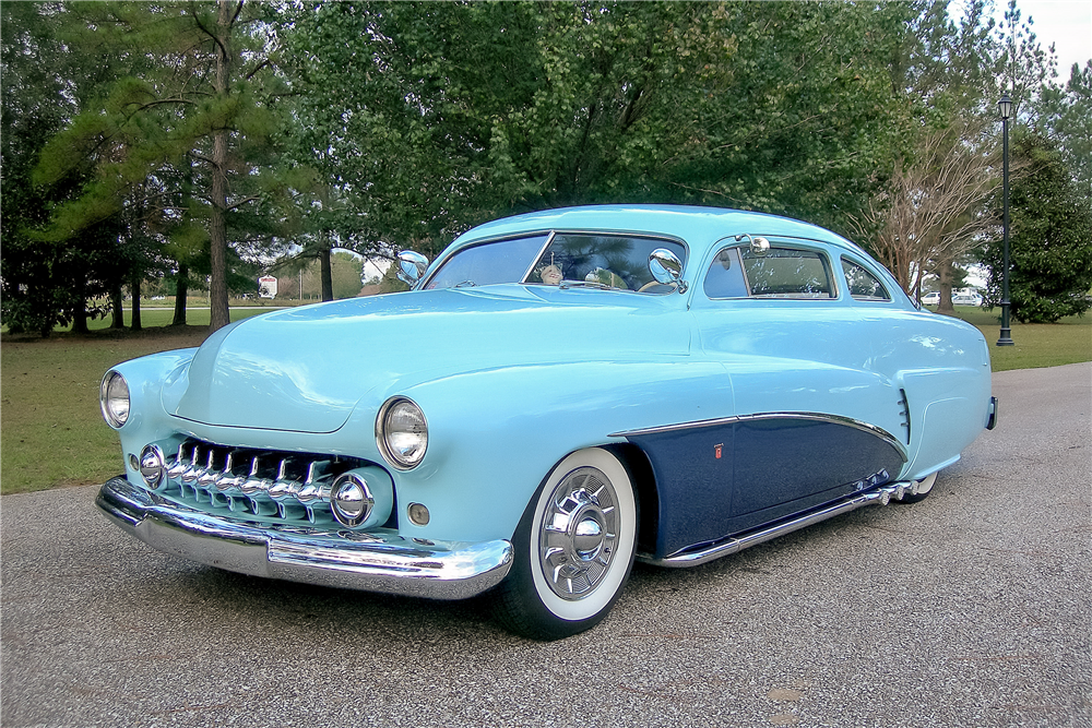 1951 MERCURY CUSTOM COUPE - Front 3/4 - 189370