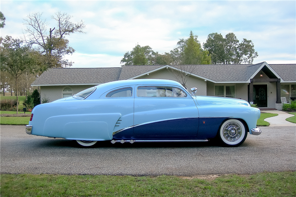1951 MERCURY CUSTOM COUPE - Side Profile - 189370