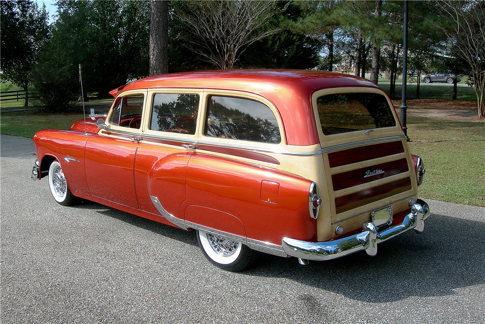 1953 PONTIAC SKY CHIEF CUSTOM WOODY WAGON - Rear 3/4 - 189372