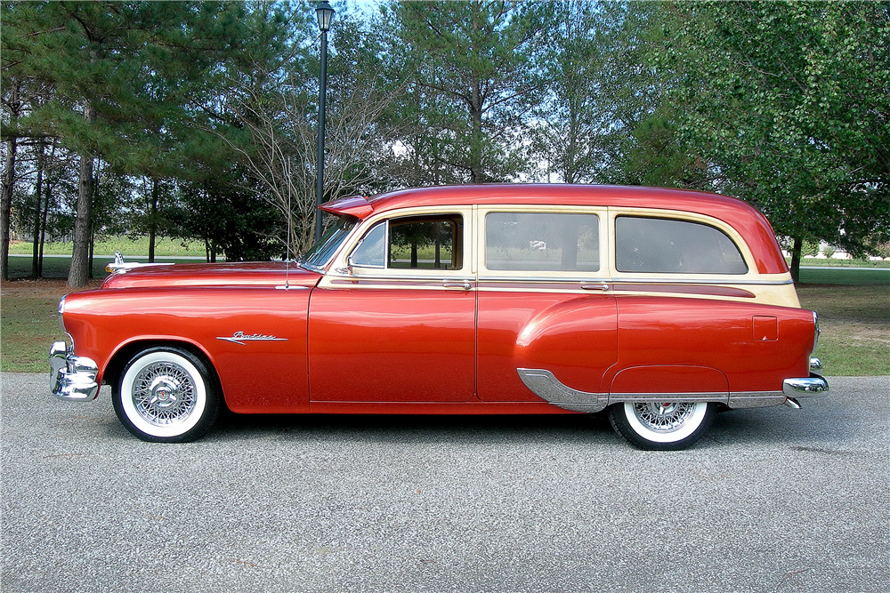 1953 PONTIAC SKY CHIEF CUSTOM WOODY WAGON  189372