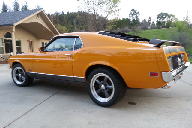 1970 FORD MUSTANG MACH 1 FASTBACK - Rear 3/4 - 189375