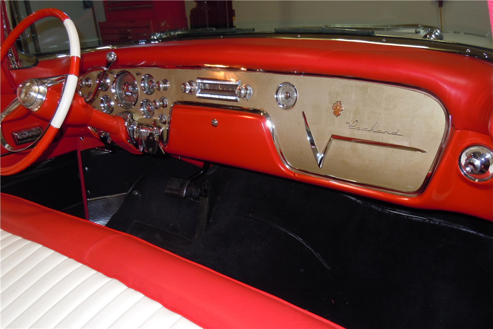 1955 PACKARD CARIBBEAN CONVERTIBLE - Interior - 189381