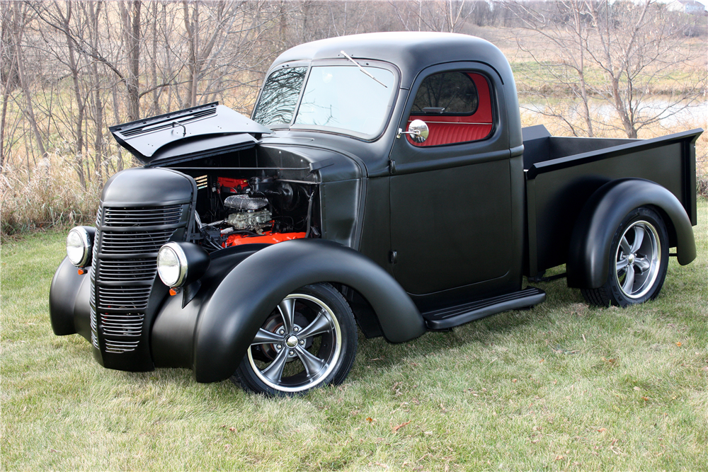 Car Auction Online >> 1939 INTERNATIONAL HALF-TON CUSTOM PICKUP - 189385