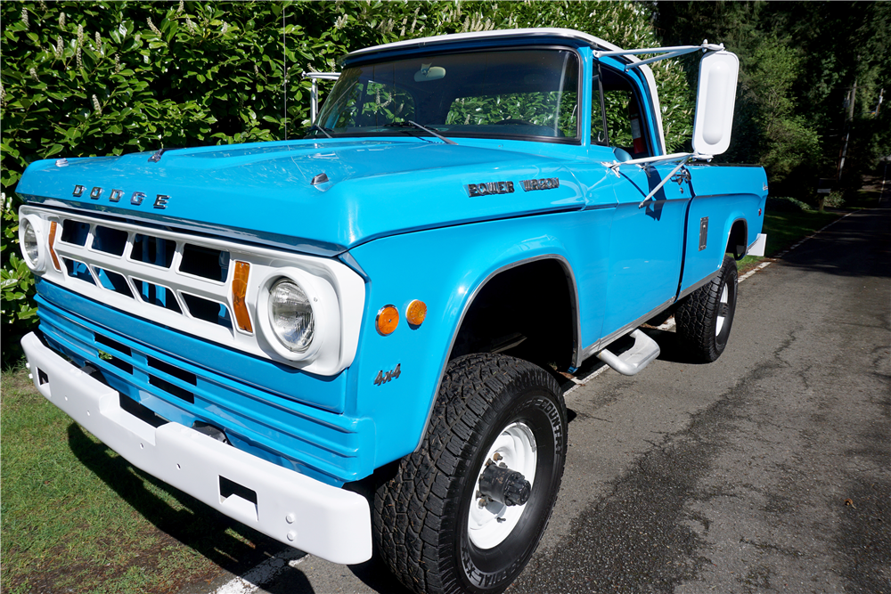 1969 dodge power wagon 3 4 ton pickup 189390. Black Bedroom Furniture Sets. Home Design Ideas