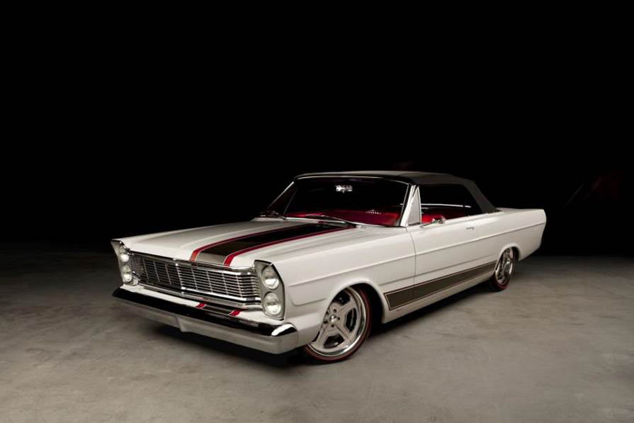 1965 FORD GALAXIE 500 CUSTOM CONVERTIBLE - Front 3/4 - 189396