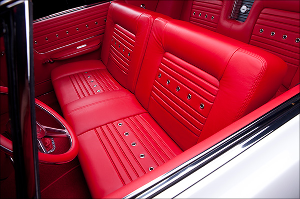 1965 FORD GALAXIE 500 CUSTOM CONVERTIBLE - Interior - 189396