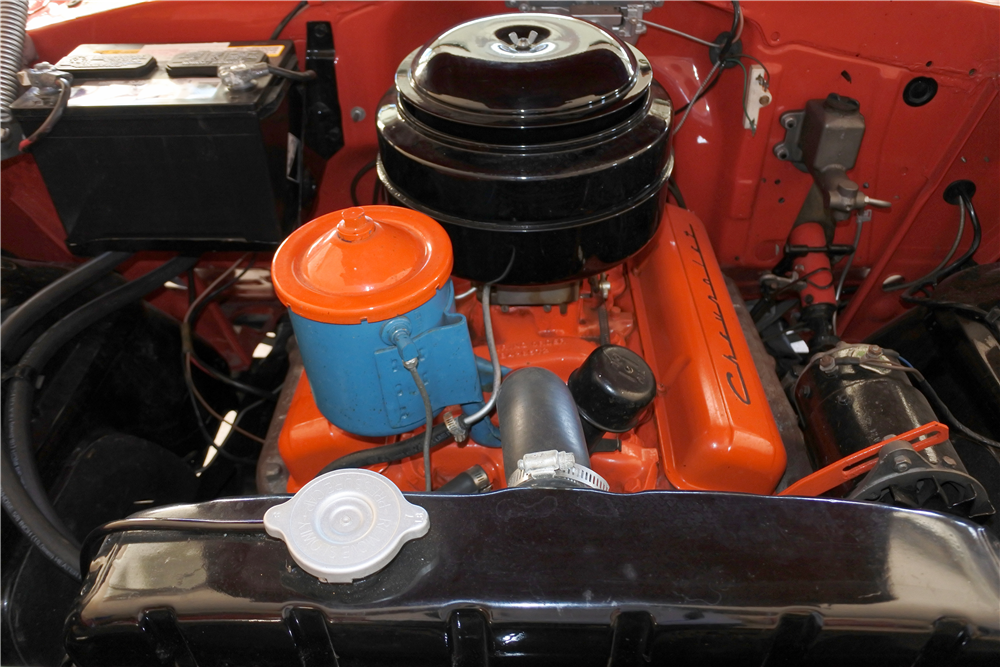 1955 CHEVROLET BEL AIR CONVERTIBLE - Engine - 189412