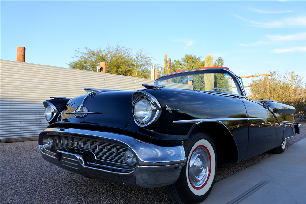 1957 OLDSMOBILE 88 CONVERTIBLE - Front 3/4 - 189413