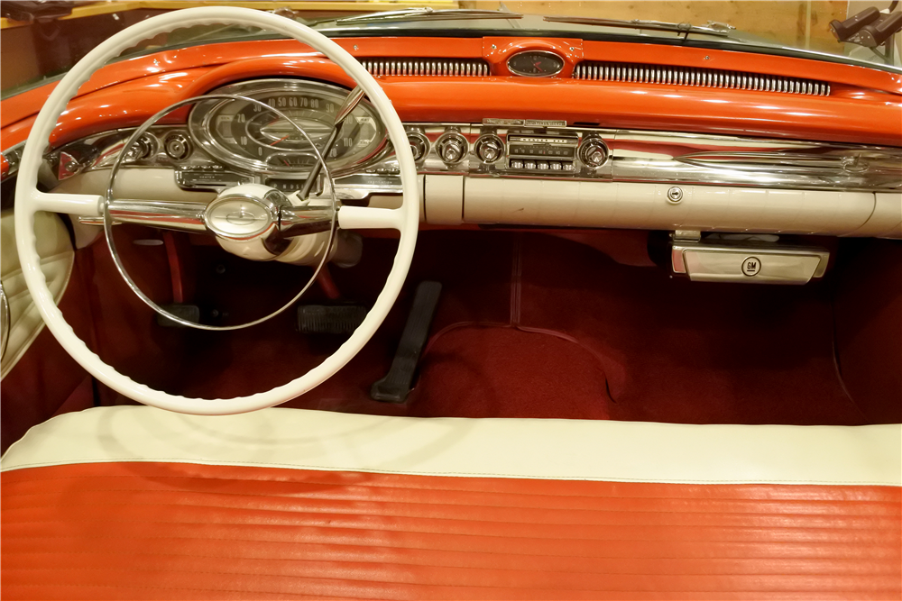 1957 OLDSMOBILE 88 CONVERTIBLE - Interior - 189413